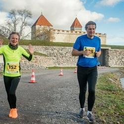 45. Saaremaa kolme päeva jooks - Helje Sagor (152), Jaak Kütt (598)