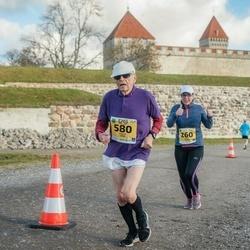 45. Saaremaa kolme päeva jooks - Kristi Saard (260), Paavo Vara (580)