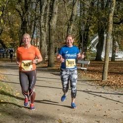 45. Saaremaa kolme päeva jooks - Moonika Merivälja (143), Heli Eerik (385)