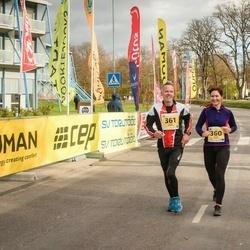 45. Saaremaa kolme päeva jooks - Maris Talvik (360), Janek Aedmäe (361)