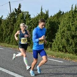 45. Saaremaa kolme päeva jooks - Marion Tibar (311), Kevin Ervald (644)