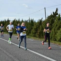 45. Saaremaa kolme päeva jooks - Edit Kannel (302), Peeter Vennikas (369), Kaupo Koplus (430)