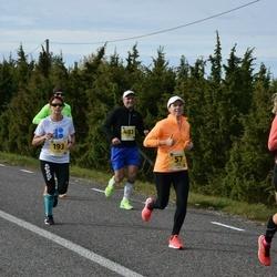 45. Saaremaa kolme päeva jooks - Kairi Ustav (57), Kristi Kõll (158), Aivi Laurik (193), Gunnar Eensoo (483)