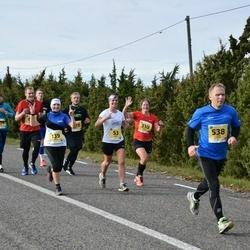 45. Saaremaa kolme päeva jooks - Aurika Reiles (53), Silja Põder (139), Triinu Kannel (310), Janek Saar (538)