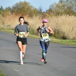 45. Saaremaa kolme päeva jooks - Helina Pärn (463), Taimi Kangur (495)