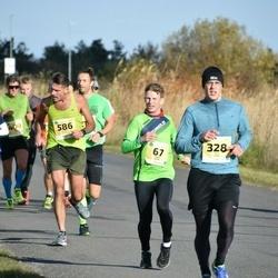 45. Saaremaa kolme päeva jooks - Endre Varik (67), Ken Lepa (328), Andreas Lehmann (586)
