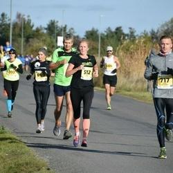 45. Saaremaa kolme päeva jooks - Eneli Pall (512), Rene Hallemaa (717)