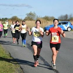 45. Saaremaa kolme päeva jooks - Aurika Reiles (53), Triinu Kannel (310)