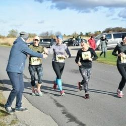 45. Saaremaa kolme päeva jooks - Maarika Reiles (54), Epp Välba (331), Tuuli Saarniit (546), Tatjana Kulikova (559)