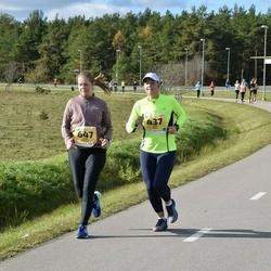 45. Saaremaa kolme päeva jooks - Kaja Hunt (437), Liga Brence (647)