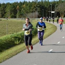 45. Saaremaa kolme päeva jooks - Tiina Muts (436), Inge Reiman (458)