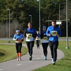 45. Saaremaa kolme päeva jooks - Nadežda Värk (455), Mihkel Nõmmela (456), Arnold Tihane (588)