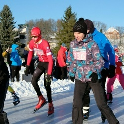 10. Mulgi Uisumaraton - Vivi Older (336), Rasmus Leppik (442)
