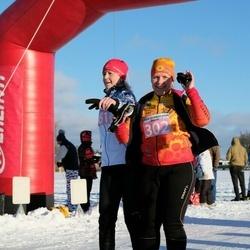 10. Mulgi Uisumaraton - Anneli Sitska (302), Ingrid Piir (461)