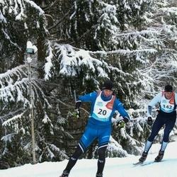 Sportland Kõrvemaa Suusamaraton - Rainer Tokko (20), Risto Rammul (142)