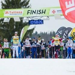 21. Tallinna Suusamaraton - Rimo Timm (9), Allar Soo (11)