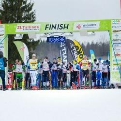 21. Tallinna Suusamaraton - Ilmar Udam (4), Allar Soo (11), Indrek Hubel (14), Aivar Ridamäe (22)