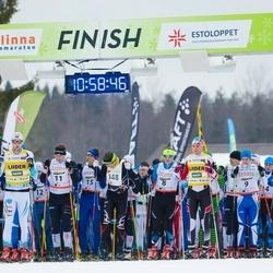 21. Tallinna Suusamaraton - Juri Širokov (8), Rimo Timm (9), Allar Soo (11), Meelis Rebane (348)