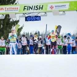 21. Tallinna Suusamaraton - Ilmar Udam (4), Allar Soo (11)