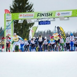 21. Tallinna Suusamaraton - Juri Širokov (8), Rimo Timm (9), Allar Soo (11)