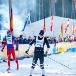 46. Tartu Maraton - Cristian Anton (116), Indrek Valge (275)