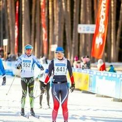46. Tartu Maraton - Margus Kaegas (552), Anneli Tühis (641)
