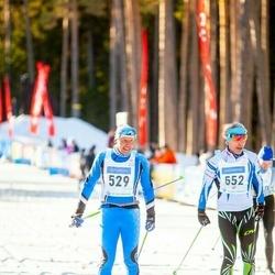 46. Tartu Maraton - Tarvo-Jaan Rebane (529), Evelyn Himma (652)