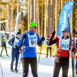 46. Tartu Maraton - Karel Romet Pedajas (228), Indrek Reino (961)