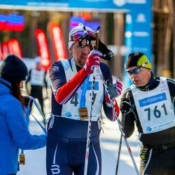 46. Tartu Maraton - Kalvi Reivelt (417), Alexey Varakin (761)