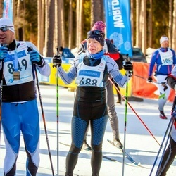 46. Tartu Maraton - Dmitry Shapochkin (647), Piret Põldsaar (688), Taivo Kitsing (776), Priit Kotkas (849)