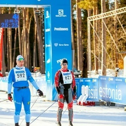 46. Tartu Maraton - Urmet Külaots (592), Mikhail Kochergan (621)