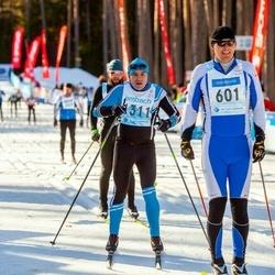 46. Tartu Maraton - Andres Jaanikivi (311), Mait Mändmets (601)