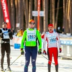 46. Tartu Maraton - Mart Metsnõmm (1358), Jaak Kanniste (1393)