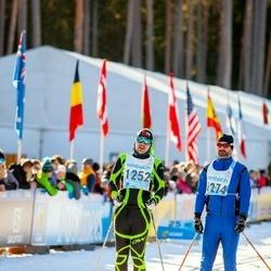 46. Tartu Maraton - Rauno Randma (1252), Avo Kask (1274)