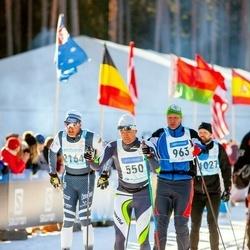 46. Tartu Maraton - Hannes Kägu (550), Kaupo Kiiver (963), Giannantonio Strazzabosco (2164)