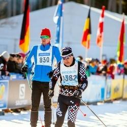 46. Tartu Maraton - Villu Huimerind (830), Andres Part (1382)