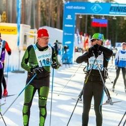 46. Tartu Maraton - Kalmer Valtin (1123), Juha Hulkkonen (1181)