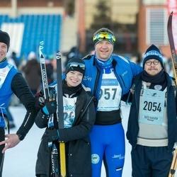 46. Tartu Maraton - Jüri Muttika (2054), Heigo Paide (3337)