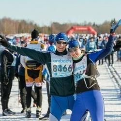 46. Tartu Maraton - Raines Laul (8466), Piret Suitso (8961)