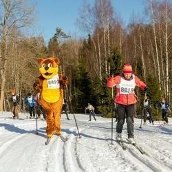 46. Tartu Maraton - Erkki Liiv (8499), Liina Rehepapp (8818)