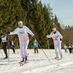 46. Tartu Maraton - Hanna-Marii Kaljas (2206), Eeva-Laura Lõoke (2207)