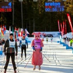 46. Tartu Maraton - Sulev Kraam (1000), Janar Saviir (1019)