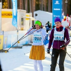 46. Tartu Maraton - Kadri Limberg (1200), Helin Kumm (1834)