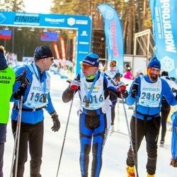 46. Tartu Maraton - Vahur Vahemets (1527), Vahur Vingisaar (2419), Tarmo Hanni (4016)
