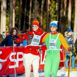 46. Tartu Maraton - Juhan Muru (2003), Priit Grünberg (2055)