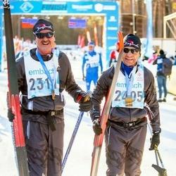 46. Tartu Maraton - Erich Degiacomi (2311), Urs Pfister (2405)