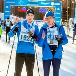46. Tartu Maraton - Üllar Kaljumäe (1489), Karl Kaljumäe (1522)