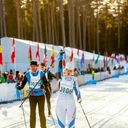 46. Tartu Maraton - Erki Väljaots (3078), Laura Väljaots (3106)