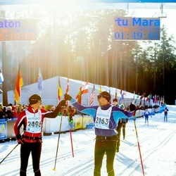 46. Tartu Maraton - Uwe Maier (2163), Arthur Harald Bieri (2496)
