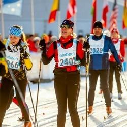 46. Tartu Maraton - Marta Olvet (1966), Dana Sutterova (2402)